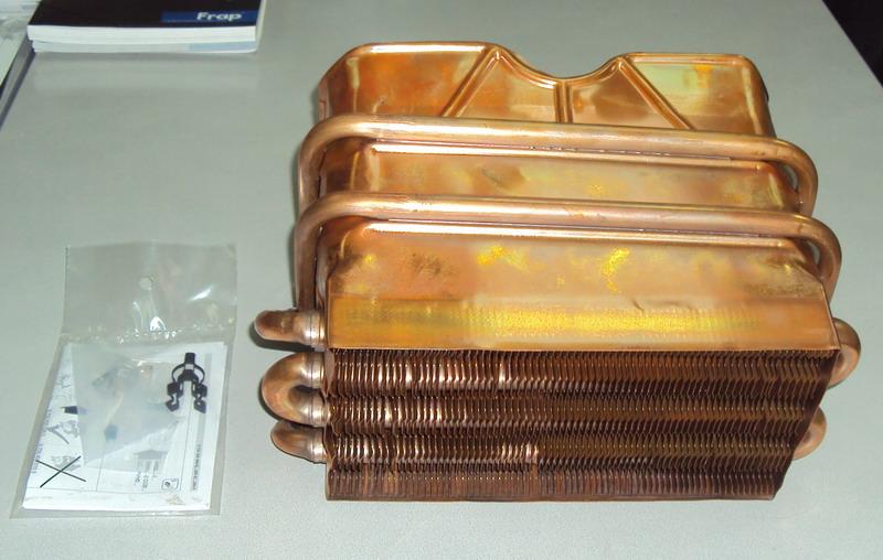 Теплообменник на газовую колонку junkers Пластинчатый разборный теплообменник SWEP GC-8S Бийск