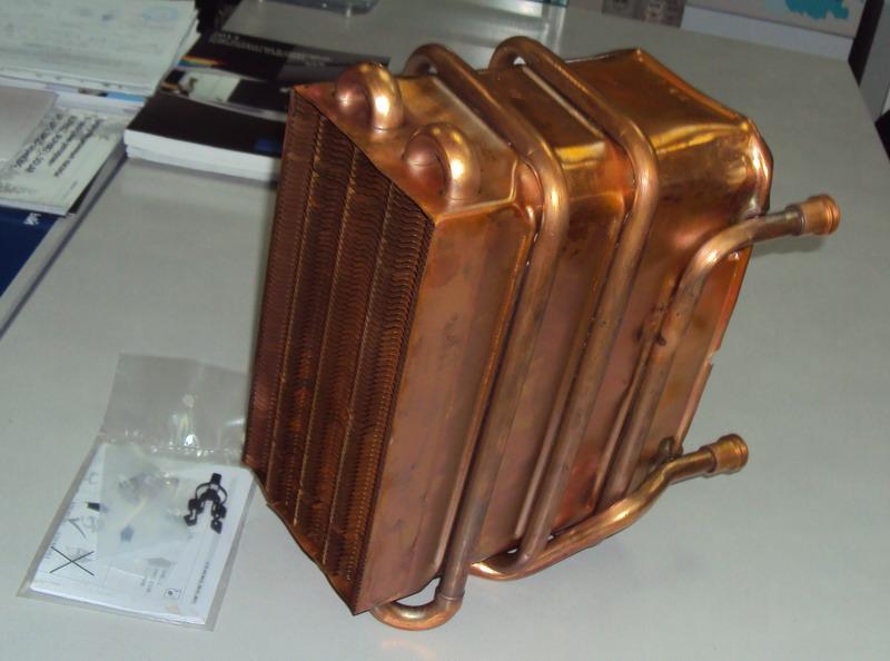 Теплообменник радиатор к газовой колонке бош Паяный теплообменник испаритель Машимпэкс CHA 12-UM Рязань