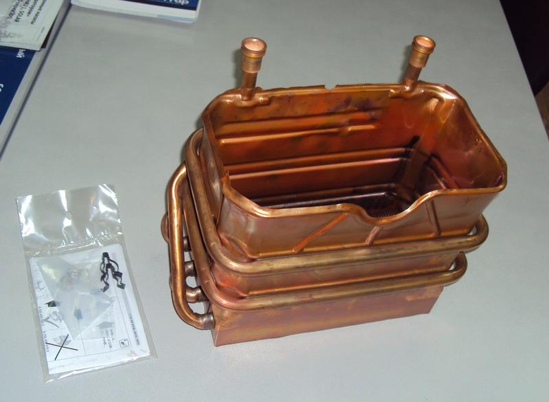 Теплообменник для газовых колонок Пластины теплообменника Sondex S51 Северск